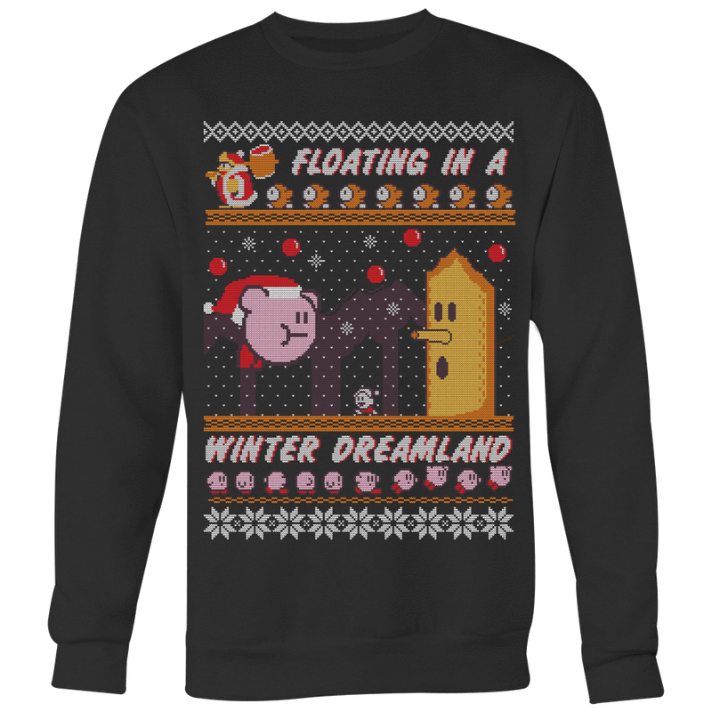 Kirby Ugly Christmas Sweater