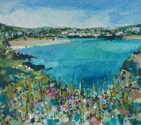 Artist Support Pledge Painting 'From Pentire'