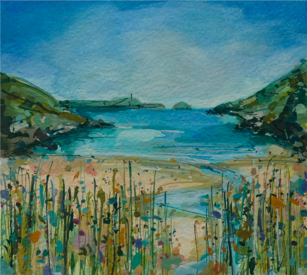 Artist Support Pledge Painting 'Baby Bay'