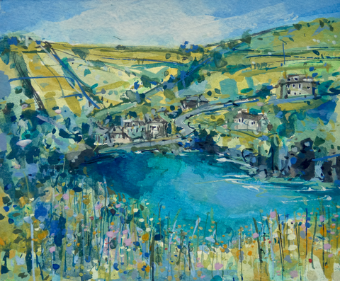 Artist Support Pledge Painting 'Port Quin'