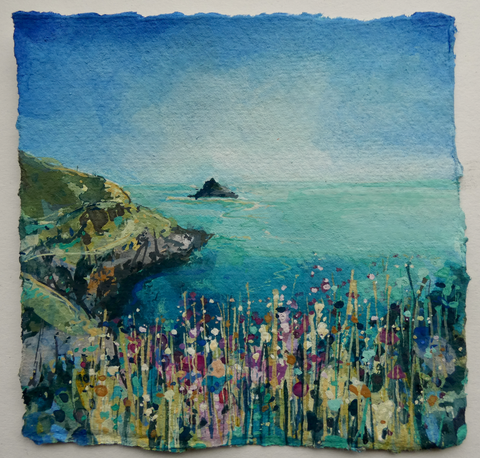 Artist Support Pledge Painting 'Morning Light At The Leadmines'