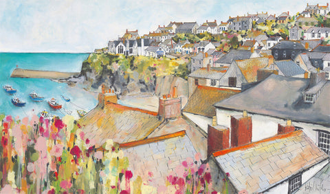 Rooftops Port Isaac