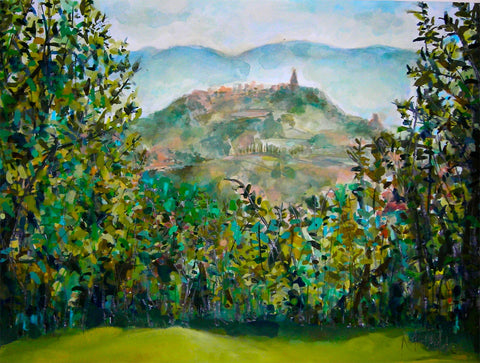Todi Through The Trees