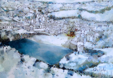 Port Isaac In The Snow