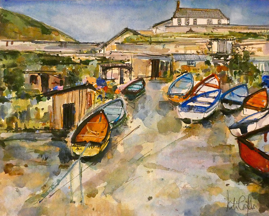 Fishing Boats Priest Cove