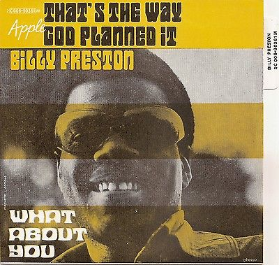 Billy Preston ‎– That's The Way God Planned It - 45lik 1969