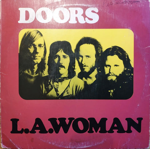 Doors ‎– L.A. Woman- LP 1971 US PRESS