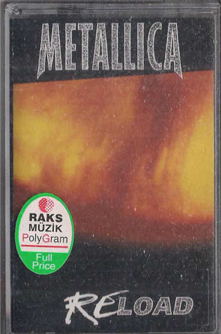 METALLICA - RELOAD - KASET