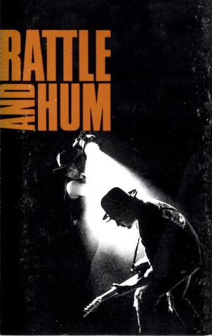 U2 - RATTLE AND HUM - KASET