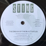 Sting ‎– The Dream Of The Blue Turtles - LP 2016
