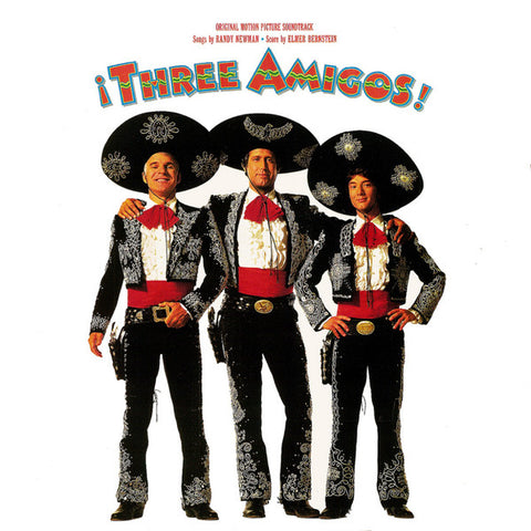 Various ‎– Three Amigos (Original Motion Picture Soundtrack) - LP 1987