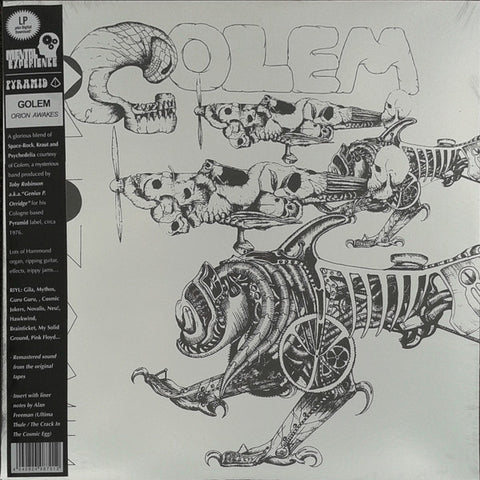 Golem - Orion Awakes - LP - 2017 Reissue