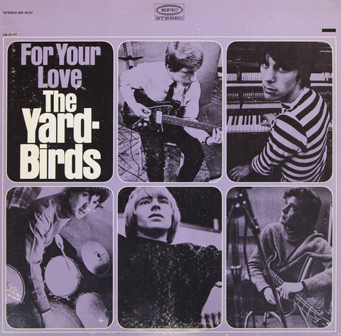 The Yardbirds ‎– For Your Love - LP 1965 US 1st PRESS !!