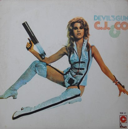 C.J. & CO. - Devil's Gun LP 1977