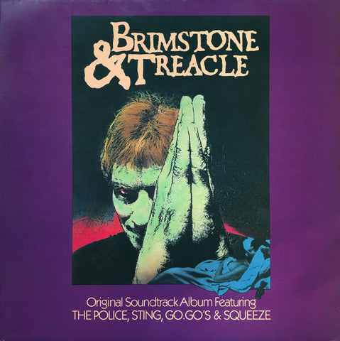 Various Featuring The Police, Sting, Go.Go's & Squeeze  ‎– Brimstone & Treacle - Soundtrack - LP 1982