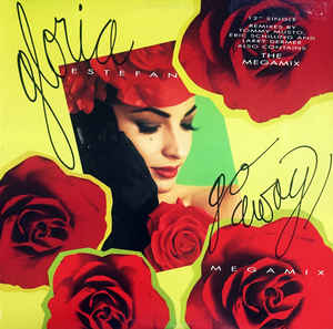 "Gloria Estefan ‎– Go Away - 12"" MAXI SINGLE 1993"