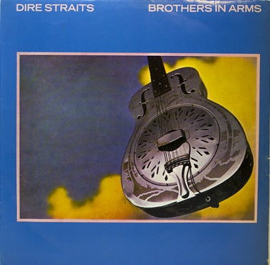 dires straits - brothers in arms - LP turkish press