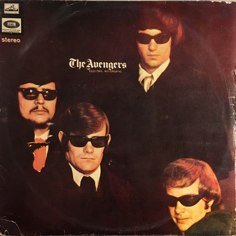 The Avengers - Electic Recording - LP Türk Baskı 1968