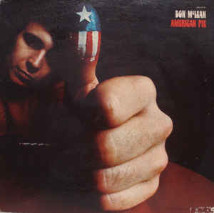 Don McLean ‎– American Pie - LP 1971