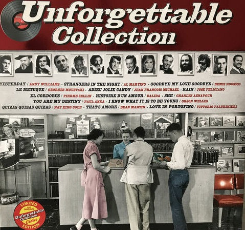 Various ‎– Unforgettable Collection - LP 2017