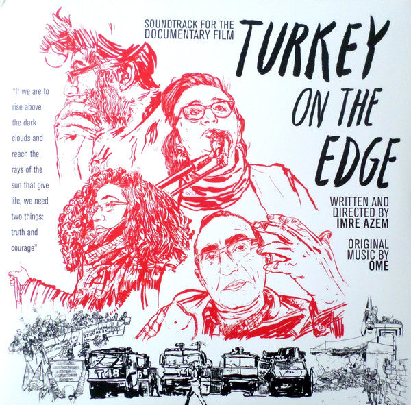 O.M.E. ‎– Turkey On The Edge LP 2017 (Ambalajında)