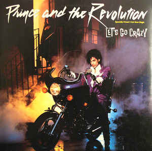 Prince And The Revolution ‎– Let's Go Crazy - 12'' MAXI SINGLE 1984
