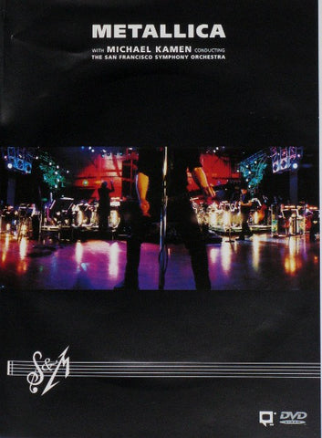 Metallica With Michael Kamen Conducting The San Francisco Symphony Orchestra ‎– S&M - 2 x DVD