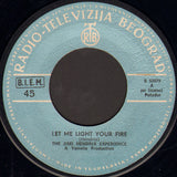 The Jimi Hendrix Experience ‎– Let Me Light Your Fire / Burning Of The Midnight Lamp - 45lik 1979