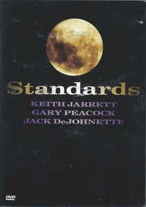 Keith Jarrett / Gary Peacock / Jack DeJohnette ‎– Standards - DVD