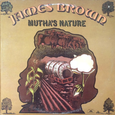 James Brown And The New J.B.'s ‎– Mutha's Nature - LP 1977