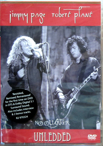 Jimmy Page & Robert Plant ‎– No Quarter (Unledded) - DVD 2004