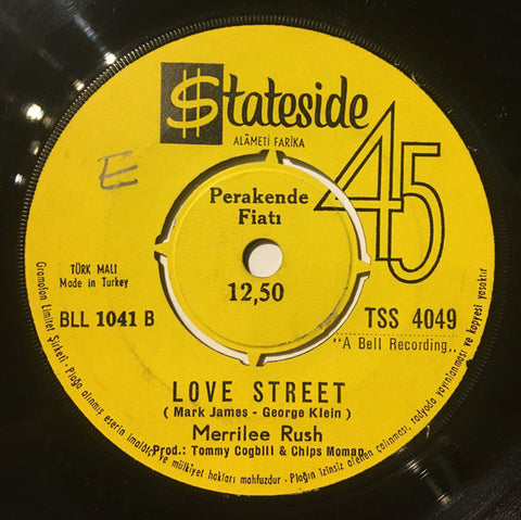 Merrilee Rush ‎– Reach Out I'll Be There / Love Street - 45lik 1969