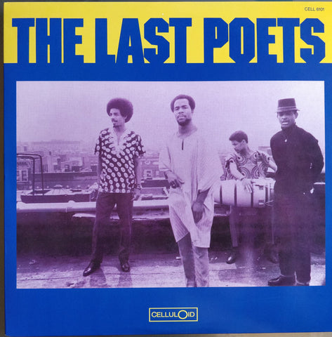The Last Poets ‎– The Last Poets - LP Reissue