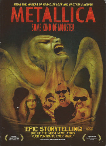 Metallica ‎– Some Kind Of Monster - 2 x DVD 2004