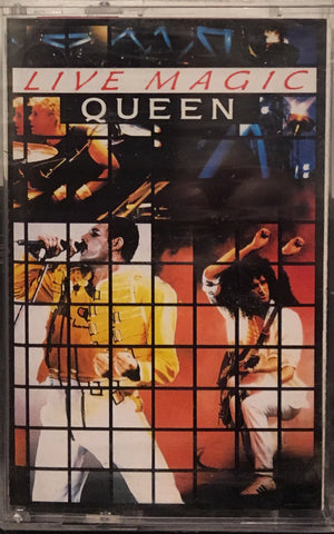 QUEEN - LIVE MAGIC - KASET
