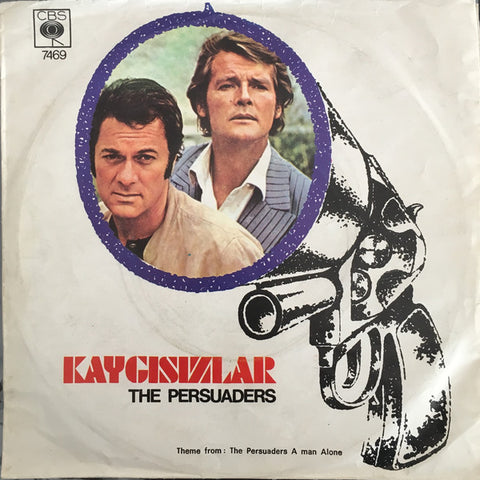 John Barry ‎– The Persuaders ( Kaygısızlar )  Theme Song / A Man Alone - 45lik 1972