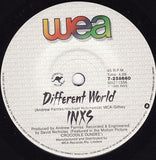 INXS ‎– Listen Like Thieves / Different World - 45lik 1986