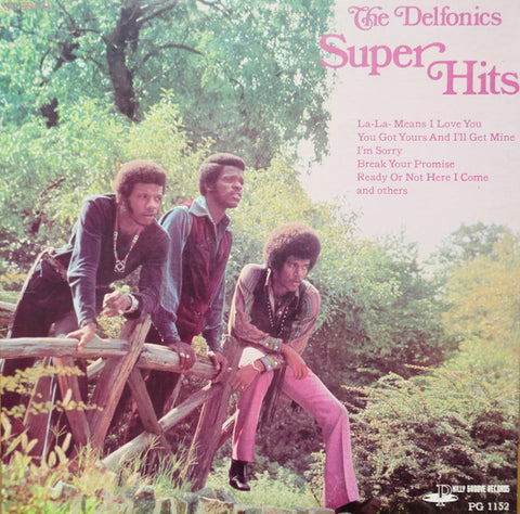 The Delfonics ‎– Super Hits - LP 1969 ( Ready Or Not , La La Means.. )