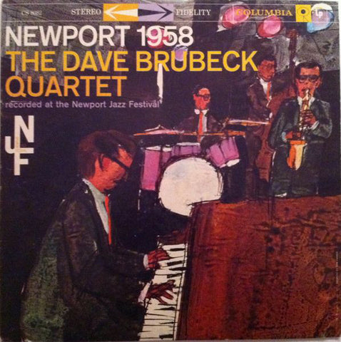 The Dave Brubeck Quartet ‎– Newport 1958 - LP 1959 US First Press !