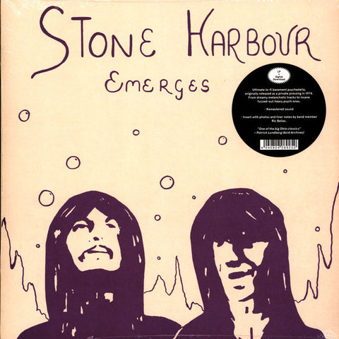 Stone Harbour ‎– Emerges - LP 2019 Reissue ( Experimental, Psychedelic Rock )