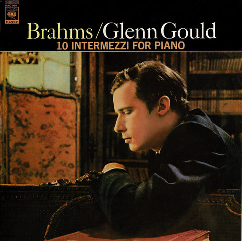 Glenn Gould / Brahms ‎– 10 Intermezzi For Piano- LP 1968 Japanese Press