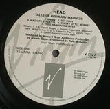 HEAD! - TALES OF ORDINARY MADNESS - LP 1988