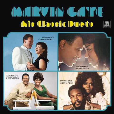Marvin Gaye ‎– His Classic Duets - LP 2020 Reissue