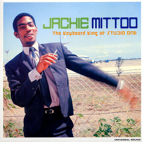 JACKIE MITTOO - THE KEYBOARD KING AT STUDIO ONE - LP 2000