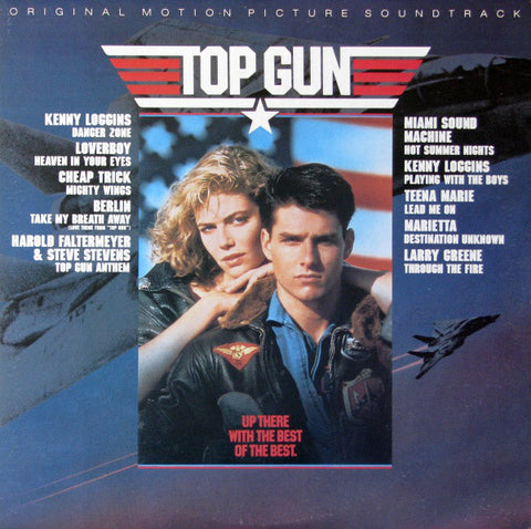 Various ‎– Top Gun Original Motion Picture Soundtrack - LP