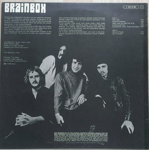 Brainbox - Brainbox - LP - 1969 German Press