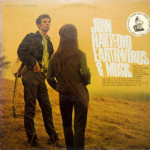 JOHN HARTFORD - EARTH & MUSIC - 1967 LP