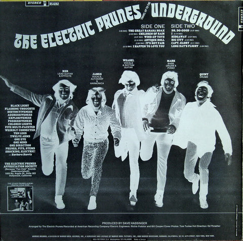 Electric Prunes - Underground - LP - 1967 Greek Press