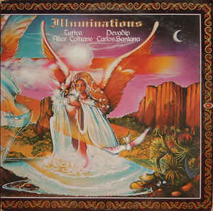 Alice Coltrane & Carlos Santana  ‎– Illuminations - LP 1974