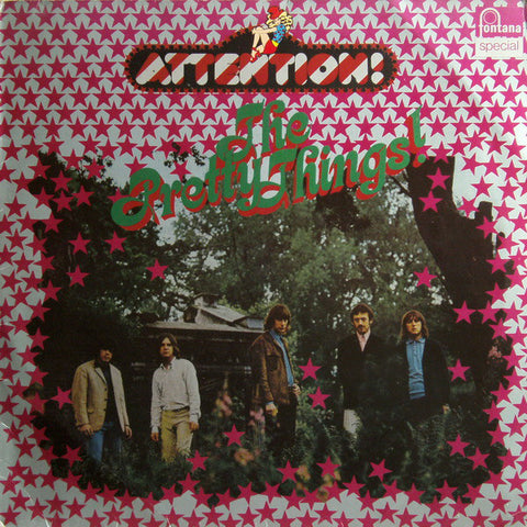 PRETTY THINGS - (ATTENTION!) LP 1976